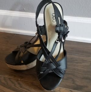 Cato Wedges with rope bottom